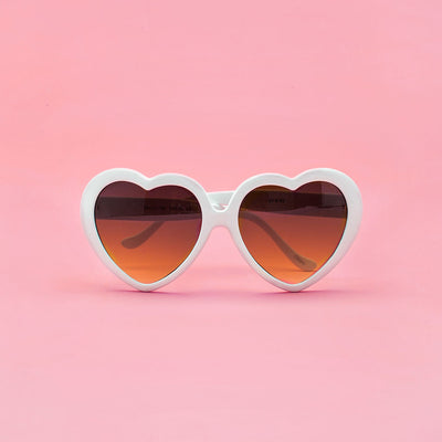 Sunglasses - White Heart Sunglasses