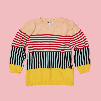 Sweater - Coney Box Top Yellow Sweater