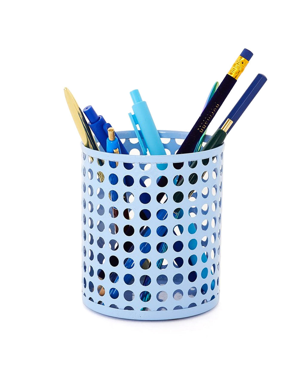 periwinkle pencil cup