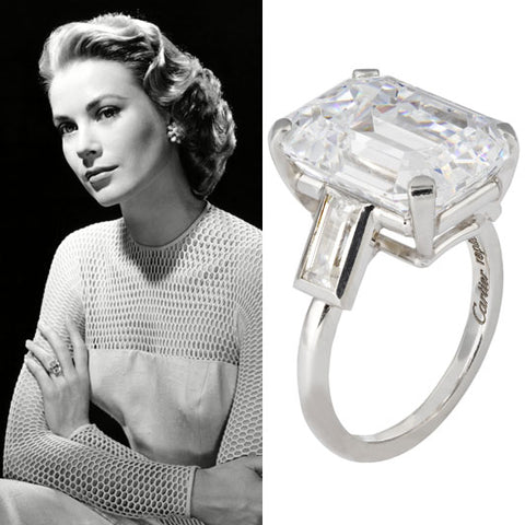 4447e288230dd Grace Kelly Engagement Ring   Victor Barbone Engagement Rings ...