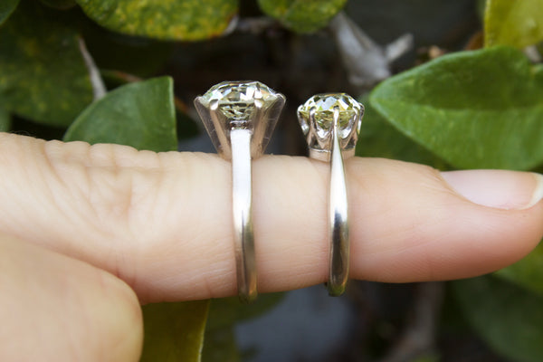 Old Cut Diamond Engagement Rings