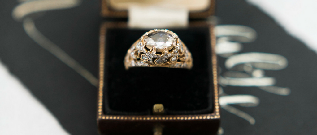 late 19th century engagement ring