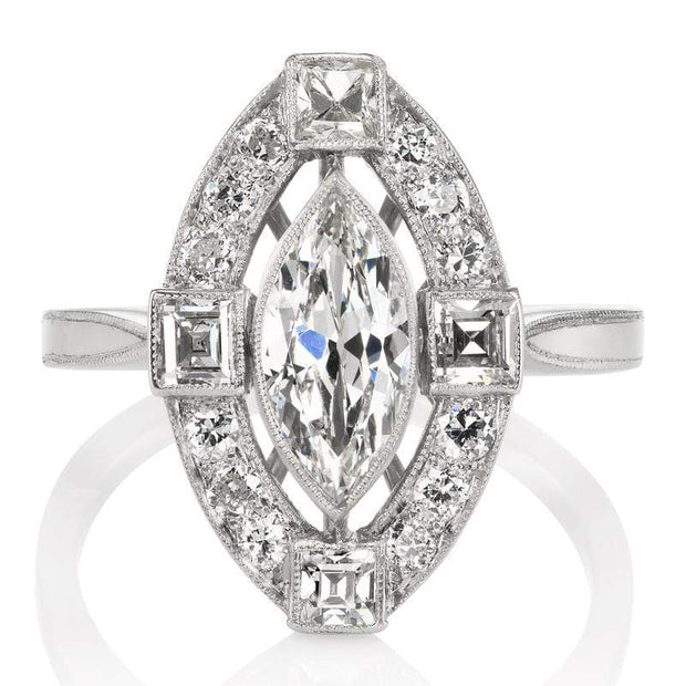 0.79ct marquise cut diamond