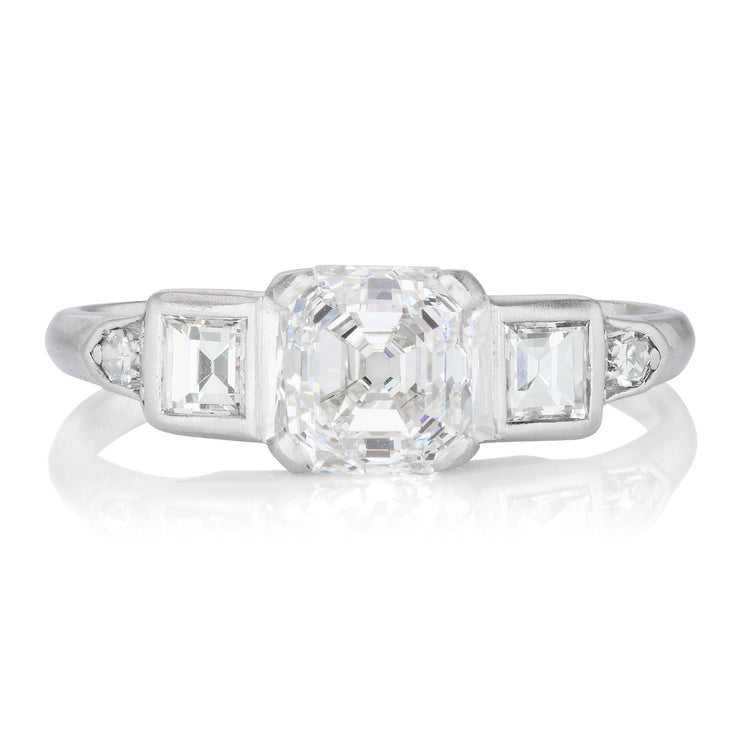 1.45ct Asscher cut diamond