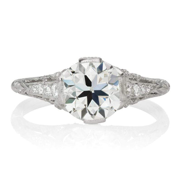 Authentic Edwardian Tiffany & Co. Engagement Ring