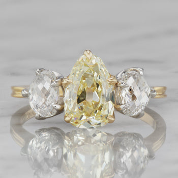 1.56 Pear Shape Diamond