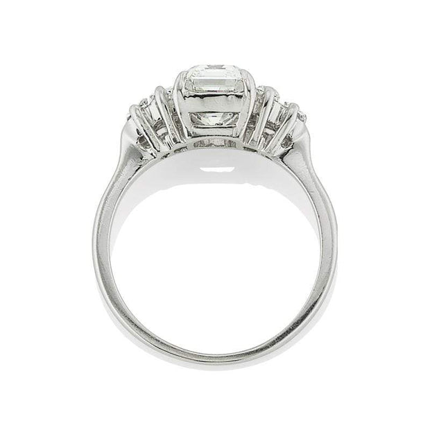 1.96ct Emerald cut diamond