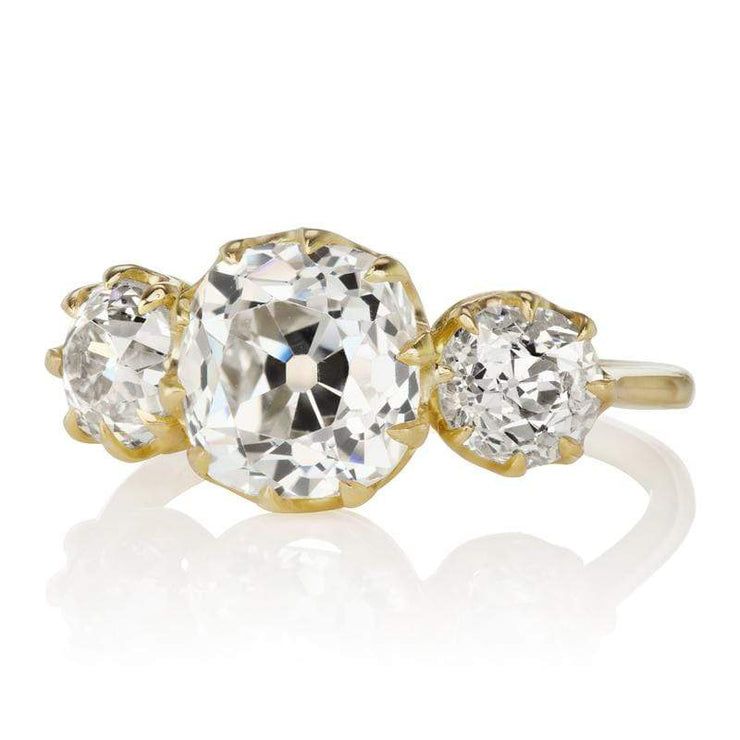 2.15ct Diamond Engagement Ring With Side Stones