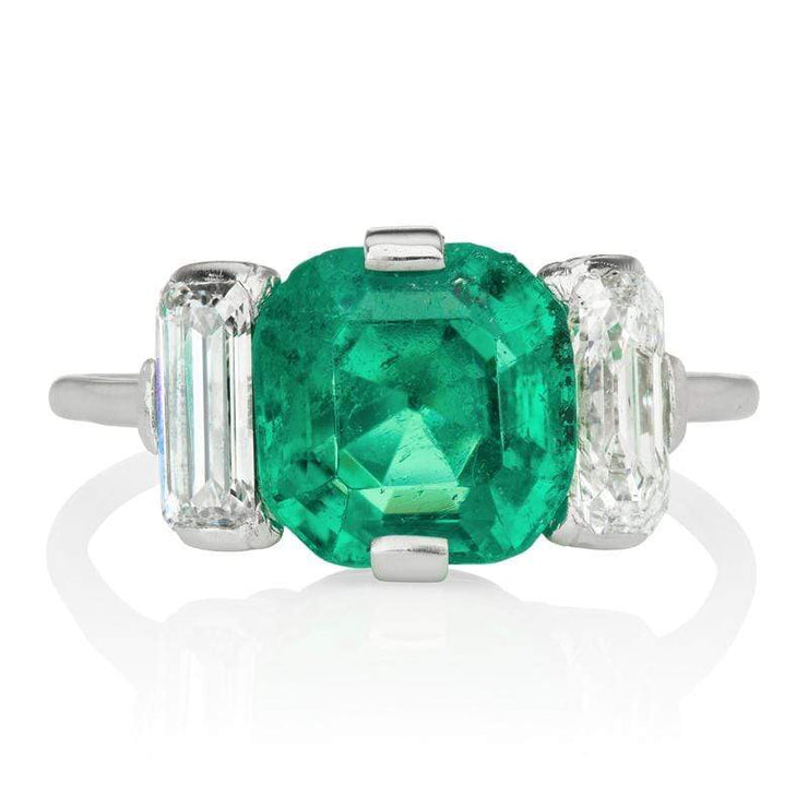 2.87ct Colombian Emerald