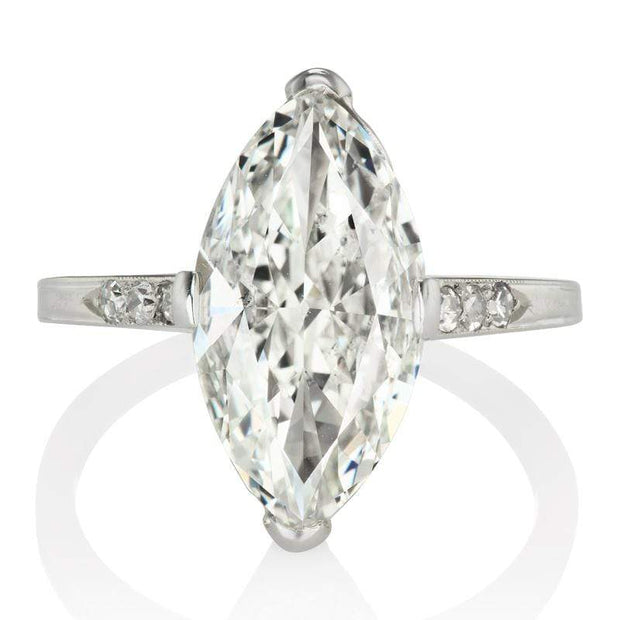 2.95ct marquise cut diamond