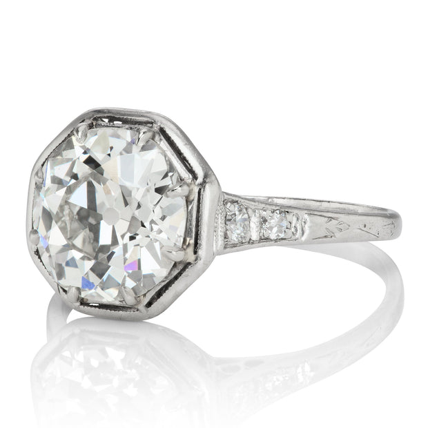 3.27ct old European cut diamond