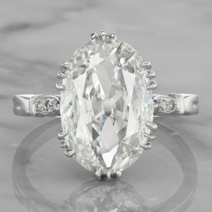 3.75ct Oval Diamond