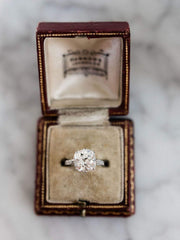 4.26ct old mine cut diamond