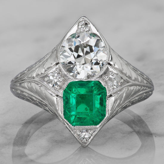 Jacqueline Kennedy Onassis Engagement Ring   Victor Barbone