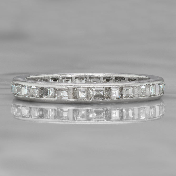 Step Cut Eternity Band