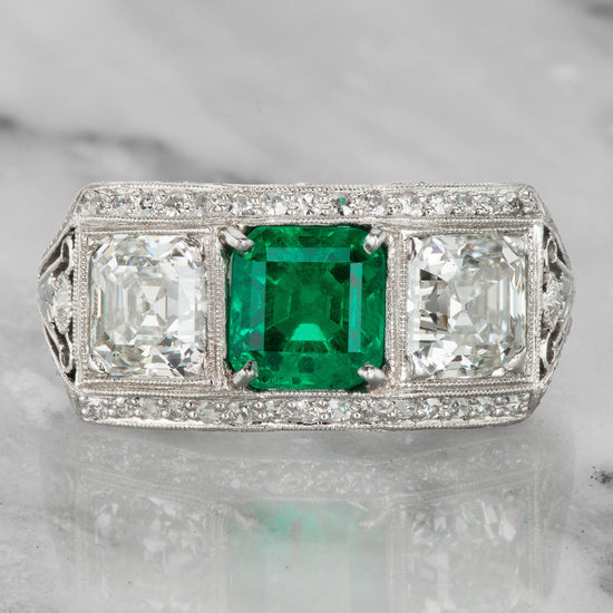 Jacqueline Kennedy Onassis Engagement Ring | Victor Barbone