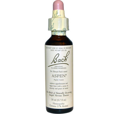 Bach Flower Remedy - Aspen