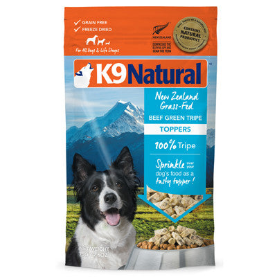 K9 Natural Beef Green Tripe Topper