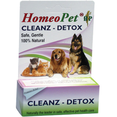HomeoPet Cleanz-Detox