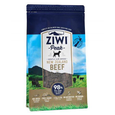 ZiwiPeak Air-Dried Beef for Dogs