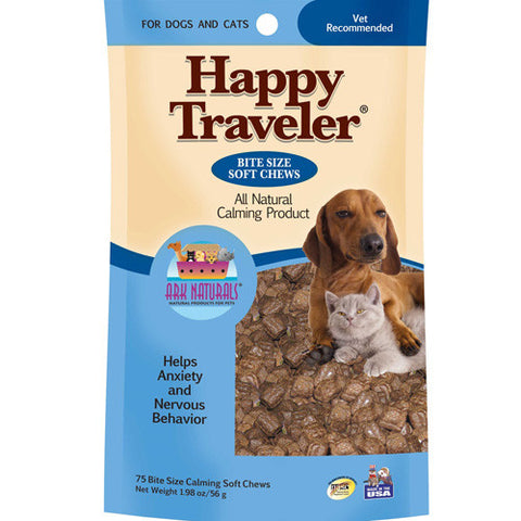 Ark Naturals Happy Traveler Chews - Front