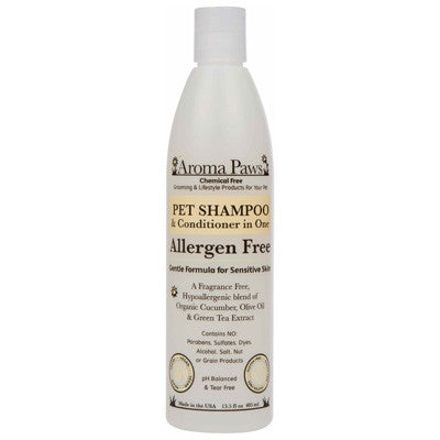 Aroma Paws Allergen Free Pet Shampoo & Conditioner in One