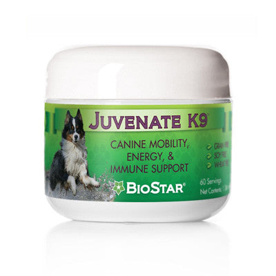 BioStar Juvenate K9 - Mobility, Energy, and Immune Support