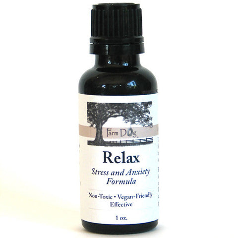 Farm Dog Naturals Relax Herbal Stress and Anxiety Formula For Dogs