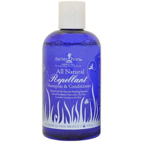 Aroma Paws All Natural Repellant Shampoo & Conditioner