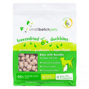 Small Batch Freeze Dried Duck Bites