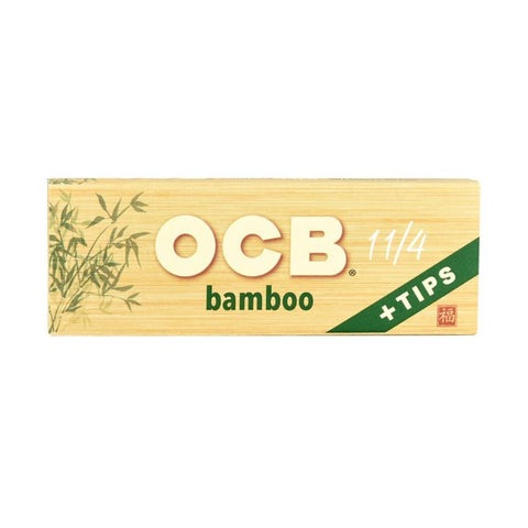 OCB Bamboo Papers + Tips