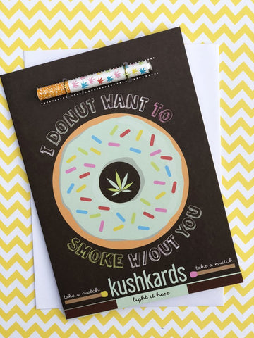 Donut Greeting Card and One Hitter