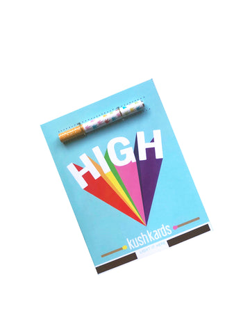 High Greeting Card and One Hitter