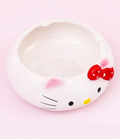 Kitty Ceramic Ashtray
