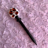 Pastel Cheetah Flat Glass Tool