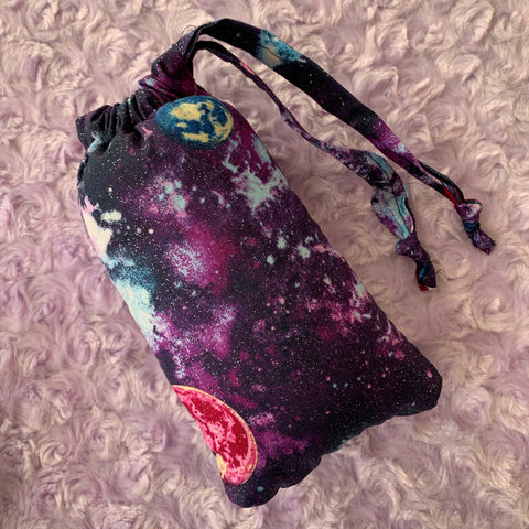 Galaxy Glass Pipe Pouch
