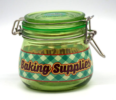 Baking Supplies Stash Jar
