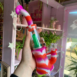 Silicone Percolator Water Pipe