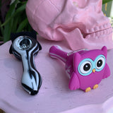Silicone Owl Pipe