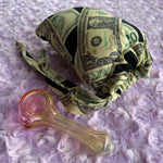 Color-changing Glass Pipe and Pouch Set