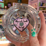 Mermaids Smoke Seaweed Glass Ashtray