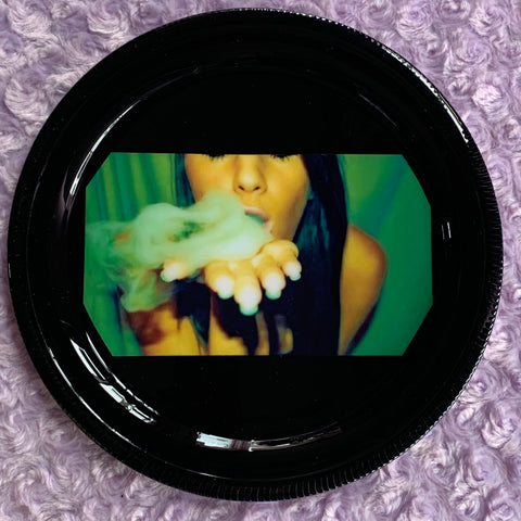 Smoking Girl Rolling Tray