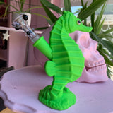 Silicone Seahorse Water Pipe