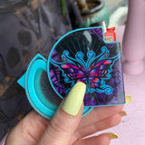 Portable Ashtray with Lighter Holder