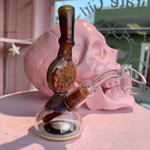 Heady Glass Glass Water Pipe