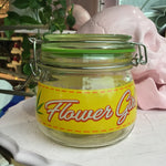 Flower Girl Stash Jar