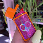 Glitter Mini Bic Lighter Case