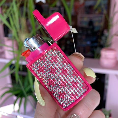 Bling Mini Bic Lighter Case