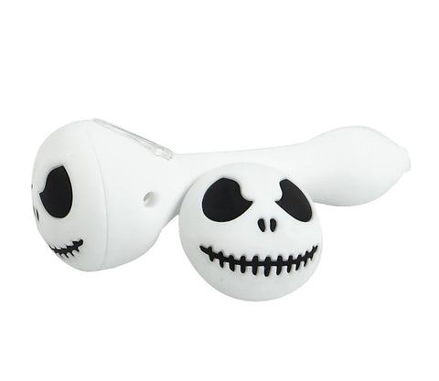 Jack Skull Silicone Pipe