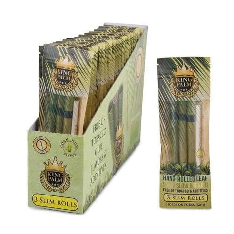 King Palm Hand Rolled Leaf Slim Rolls